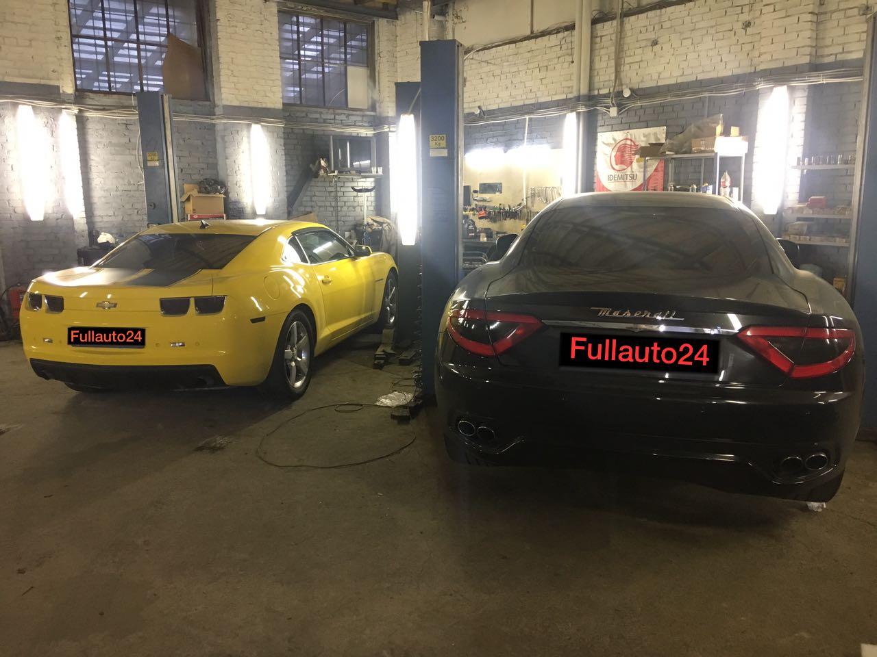 Установка выхлопной системы на автомобили