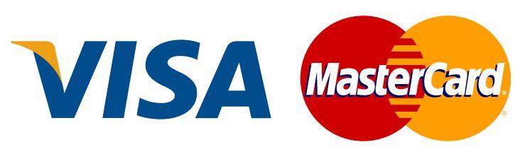 Оплата банковскими картами Visa иMasterCard