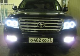 ТЮНИНГ АВТОМОБИЛЯ TOYOTA LAND CRUISER LC200 08-10