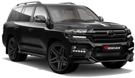 Аэродинамичеcкий обвес Renegade для Toyota Land Cruiser 200 Warrior 2015-