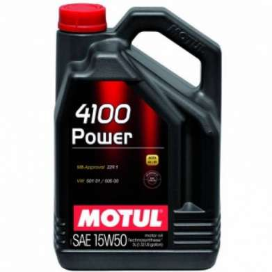 MOTUL 4100 POWER 15W50