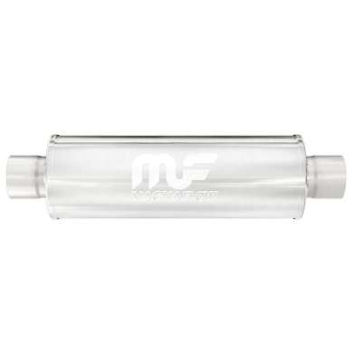 "Magnaflow 10436 Резонатор 4""x4""х22"" IN/OUT 2.5"""