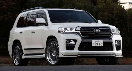 Аэродинамичеcкий обвес Elford Style для Toyota Land Cruiser 200 2015-