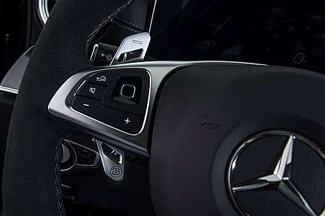 Подрулевые лепестки Brabus для Mercedes-Benz