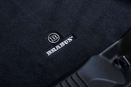 Коврик в багажник (велюровый) Brabus для Mercedes-Benz