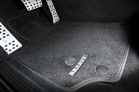 Коврики в салон (велюровые) Brabus для Mercedes-Benz
