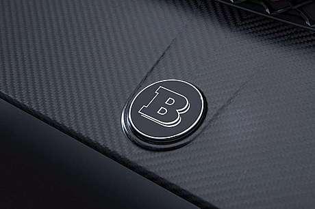 Эмблема на передний бампер Brabus для Mercedes-Benz